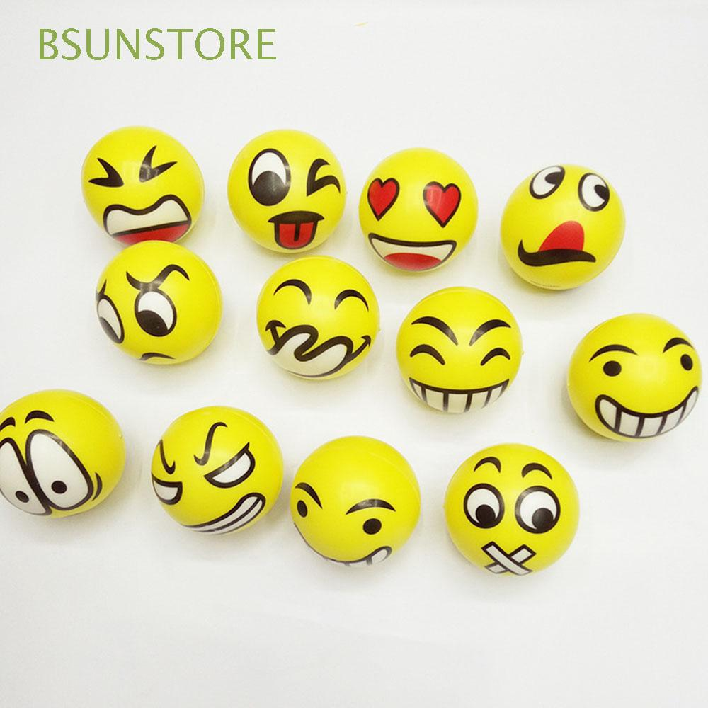 BSUNSTORE 5PCS Fashion Gifts Educational Baby Kids Sports Bouncing Ball