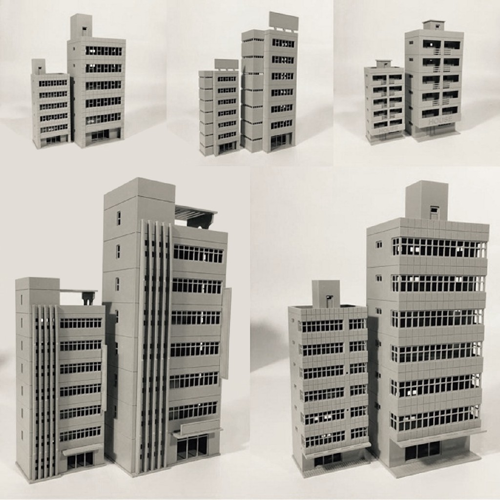 Beast Outland Building Model N Scale Gauge 1/150 Scene Modern House