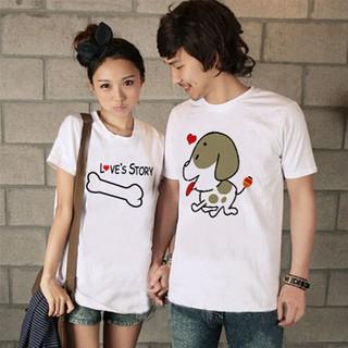 Áo Thun cặp Nam-Nữ in CẶP NAM NỮ cực dễ thương , thích hợp cho các cặp đôi trẻ trung, năng động, cho các nhóm bạn đi đêm