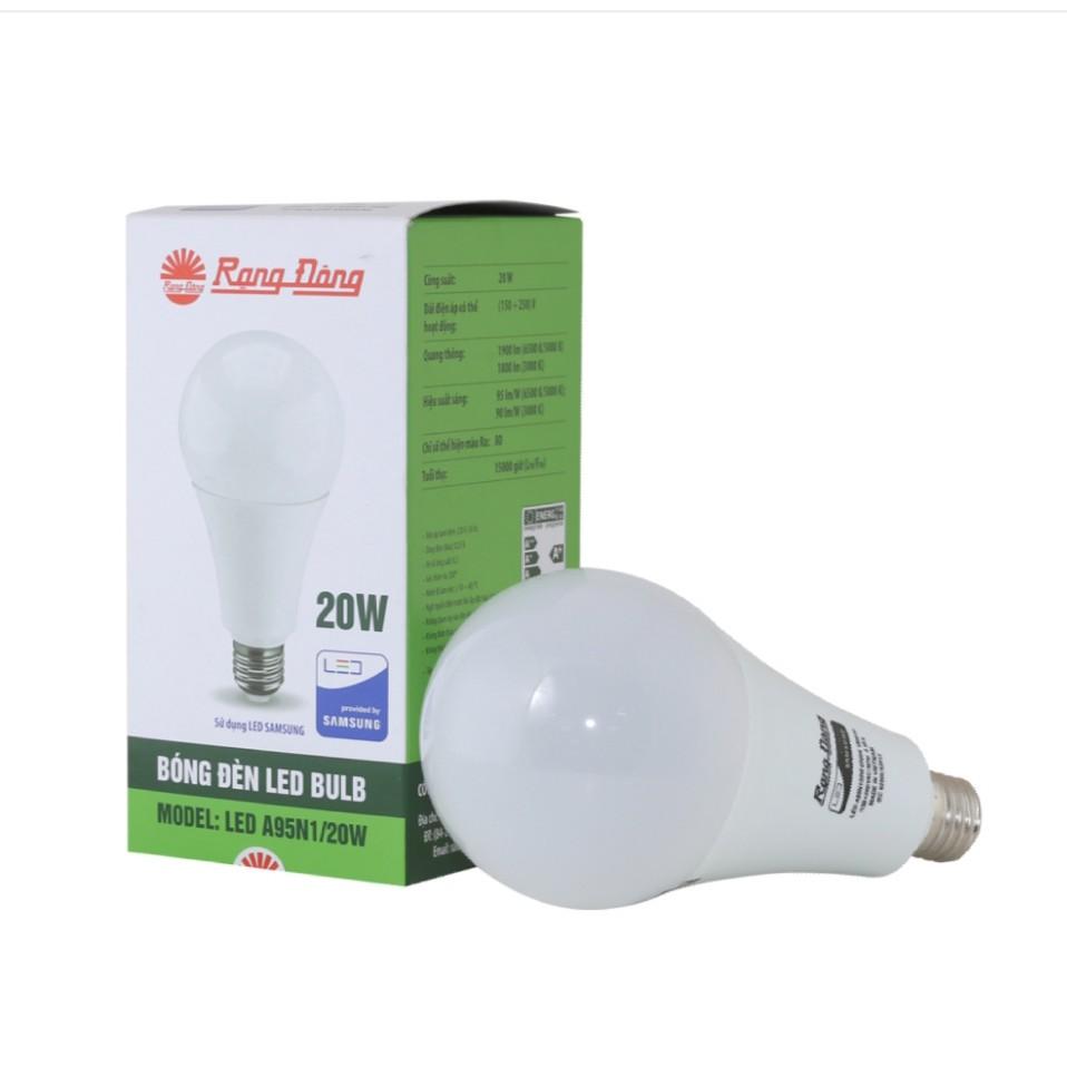 Bóng đèn LED BULB Tròn 20W Model: LED A95N1/20W.H