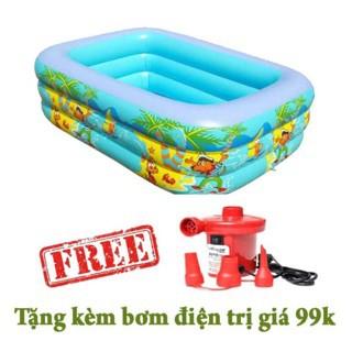 Bể bơi chữ nhật 3 tầng 1,5m tặng kèm bơm điện - 3263800 , 1226816666 , 322_1226816666 , 369000 , Be-boi-chu-nhat-3-tang-15m-tang-kem-bom-dien-322_1226816666 , shopee.vn , Bể bơi chữ nhật 3 tầng 1,5m tặng kèm bơm điện