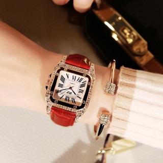 Đồng hồ nữ dây da Dzg ( xả kho giá sập , có bảo hành) thumbnail