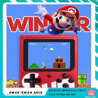 MÁY CHƠI GAME 4 NÚT CẦM TAY SUP GAME BOX 400 IN 1 PLUS thumbnail