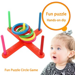 Ring Toss Throwing Game Innovative Educational Fitness Toys for Children