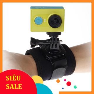 [SiêuRẻ] Dây đeo cổ tay xoay 360 độ cho camera hành trình gopro sjcam, eken, xiaomi, 4k wifi, action camera . .