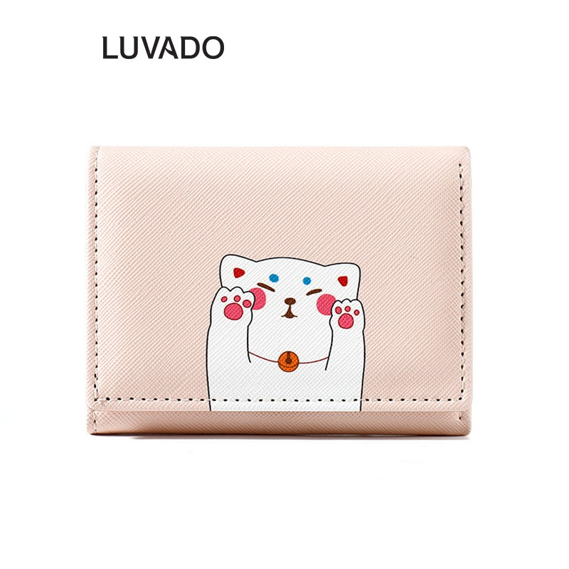 Ví nữ mini cute đẹp cầm tay TAOMICMIC thời trang cao cấp nhỏ gọn bỏ túi LUVADO VD294