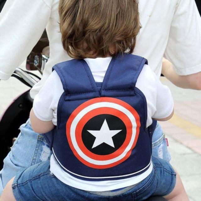 Đai đi xe máy cho bé - an toàn, tiện lợi dễ sử dụng, không có đỡ cổ