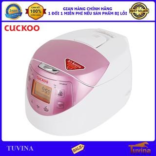 Nồi Cơm Điện Tử Cuckoo CR-0631F 1.0 Lít 1.0L - Hàng Chính Hãng (Bảo Hành Toàn Quốc 2 Năm)
