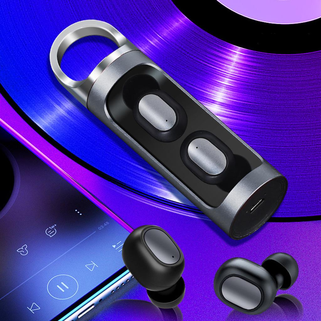 Tai Nghe Nhét Tai Jolian Bluetooth 5.0 Âm Thanh Sống Động Chất Lượng Cao Điện Thoại
