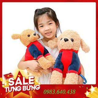 Gấu bông chú chó pugdo cao cấp đáng yêu
