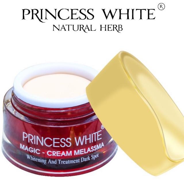 KEM NGỪA NÁM MAGIC PRINCESS WHITE HỘP 20G