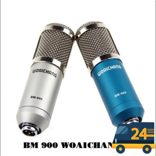 Míc Thu Âm Woaichang BM900 Míc livestream BM 900