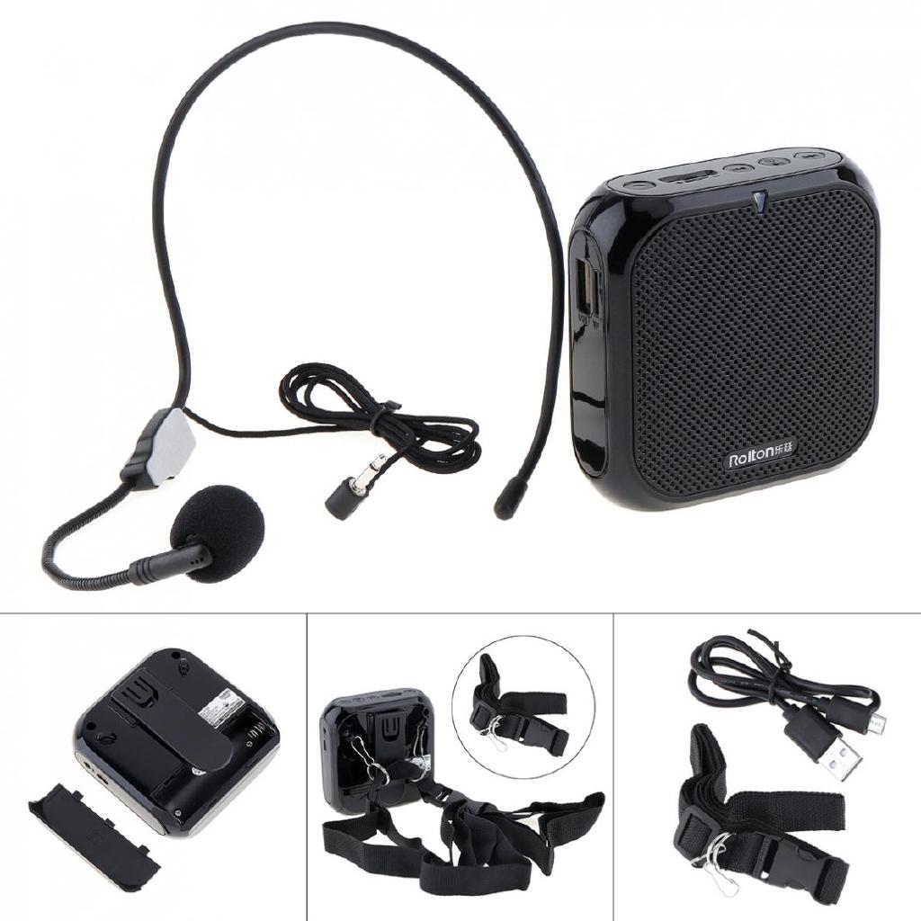 Rolton K400 Wired Mini Audio Speaker Megaphone Loudspeaker Giá chỉ 207.653₫