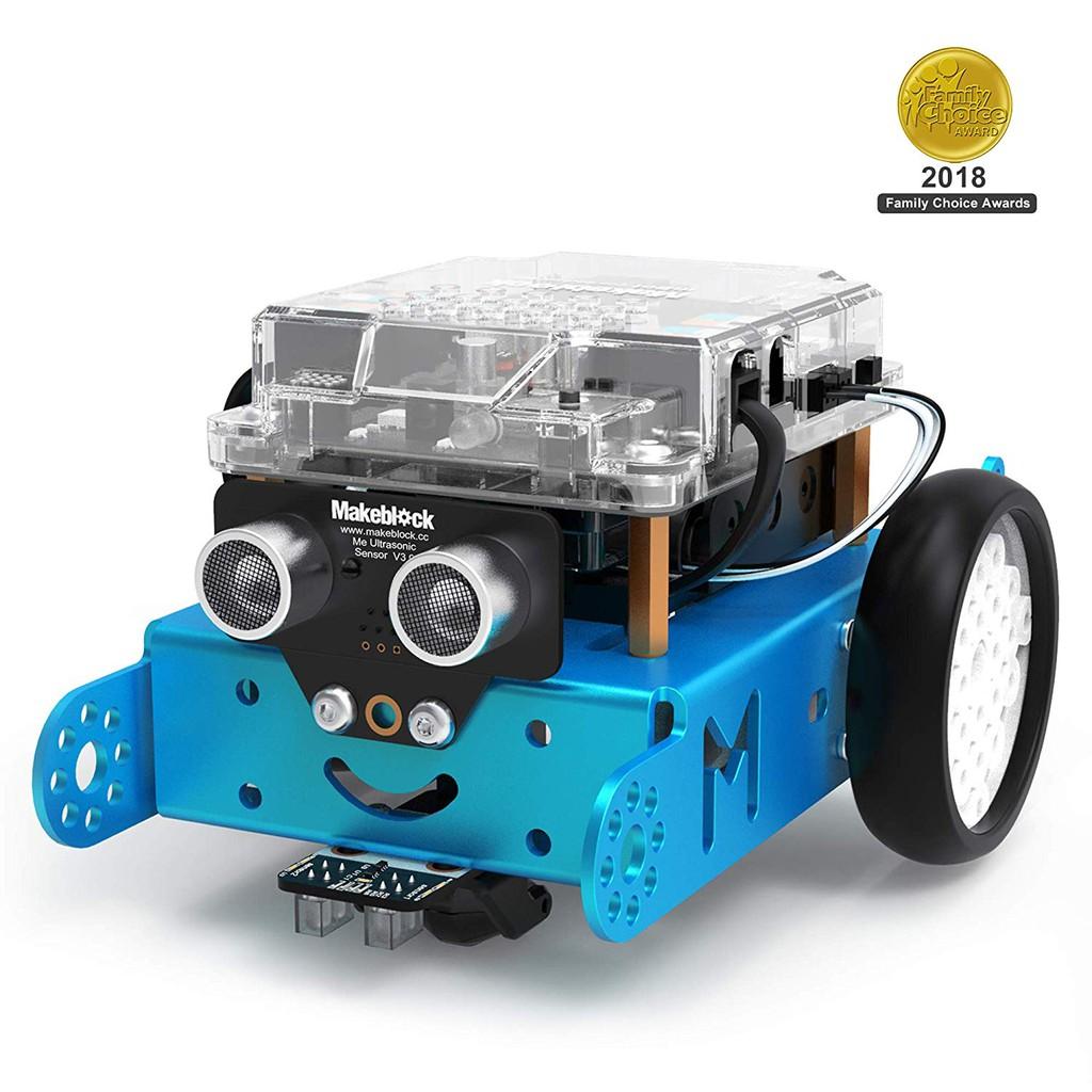 Đồ chơi giáo dục STEM: Bộ kit robot lập trình Makeblock mBot cho trẻ từ 8 tuổi