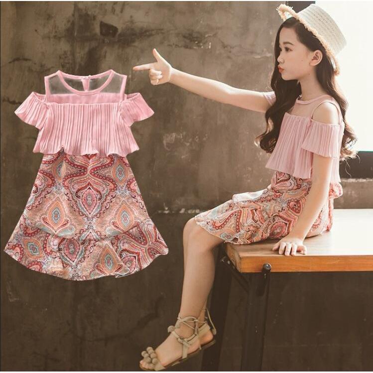 ✨CindyMom✨ Váy voan bé gái size 110-160, Quần áo bé gái 15-33kg