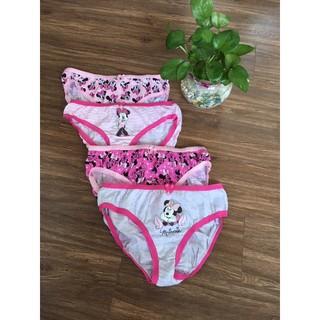 Set 4 quần lót Mickey bé gái 6-8 tuổi (Hàng Úc)