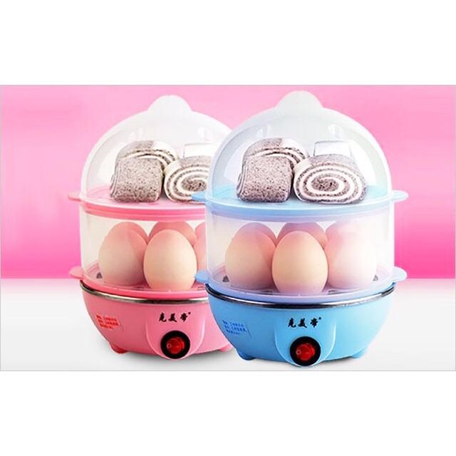 Máy hấp trứng hai tầng