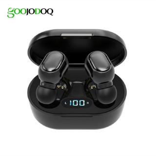 Tai Nghe Goojodoq TWS 5.0 Bluetooth Không Dây Âm Bass Stereo Có Màn Hình Kỹ Thuật Số + Mic Rảnh Tay Dành Cho Xiaomi