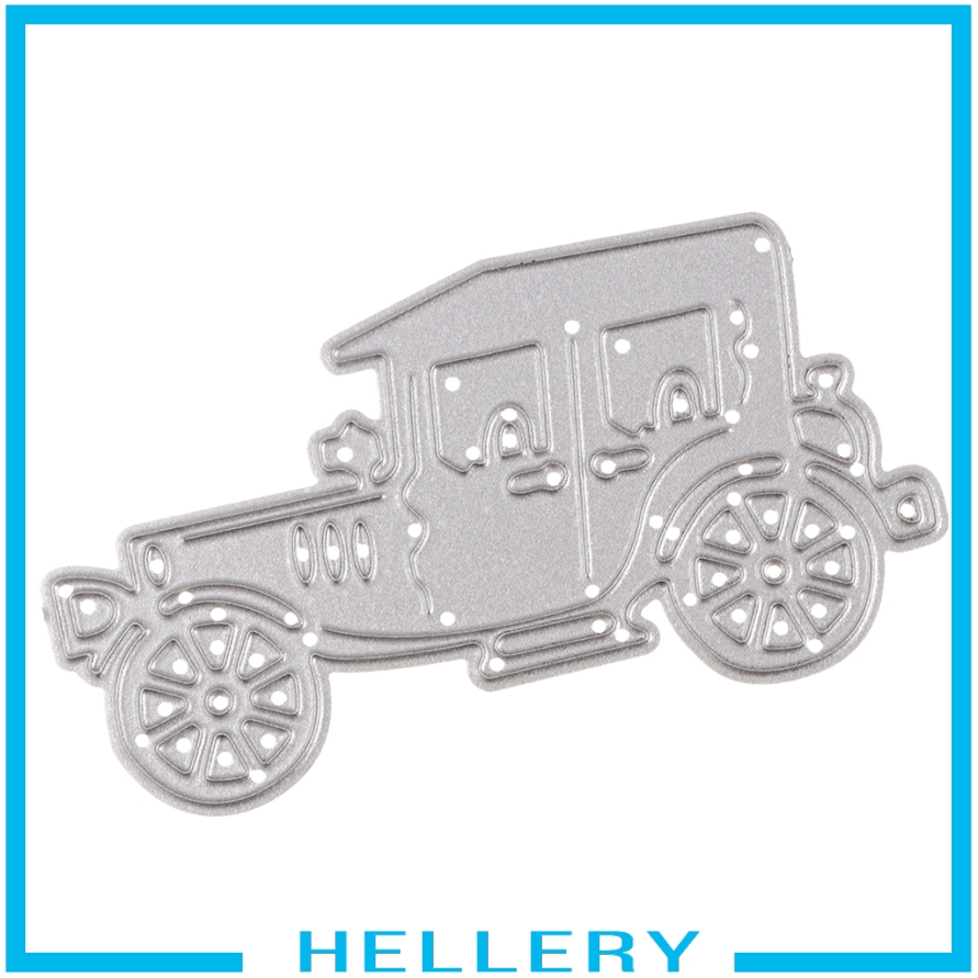 [HELLERY] Car Metal Cutting Dies Embossing Stencil for DIY Scrapbooking Card Making