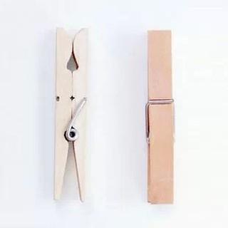 Kẹp gỗ trơn bộ 10 chiếc (size 7,2cm x 1,0cm)