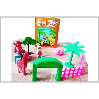 Bộ Đồ Chơi Vườn Thú Vui Nhộn Fun Zoo Toys Vinamilk