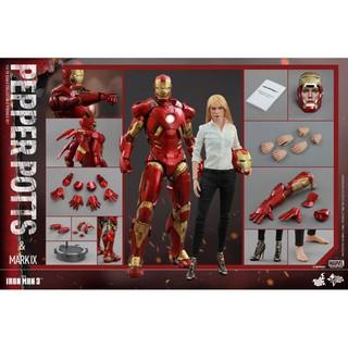 Mô hình Iron Man MK9 và Pepper Potts 1/6