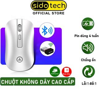 Chuột không dây Bluetooth Wireless sạc pin tự động ngắt SIDOTECH YINDIAO A8 cho Laptop Macbook PC Tivi - Chính hãng thumbnail