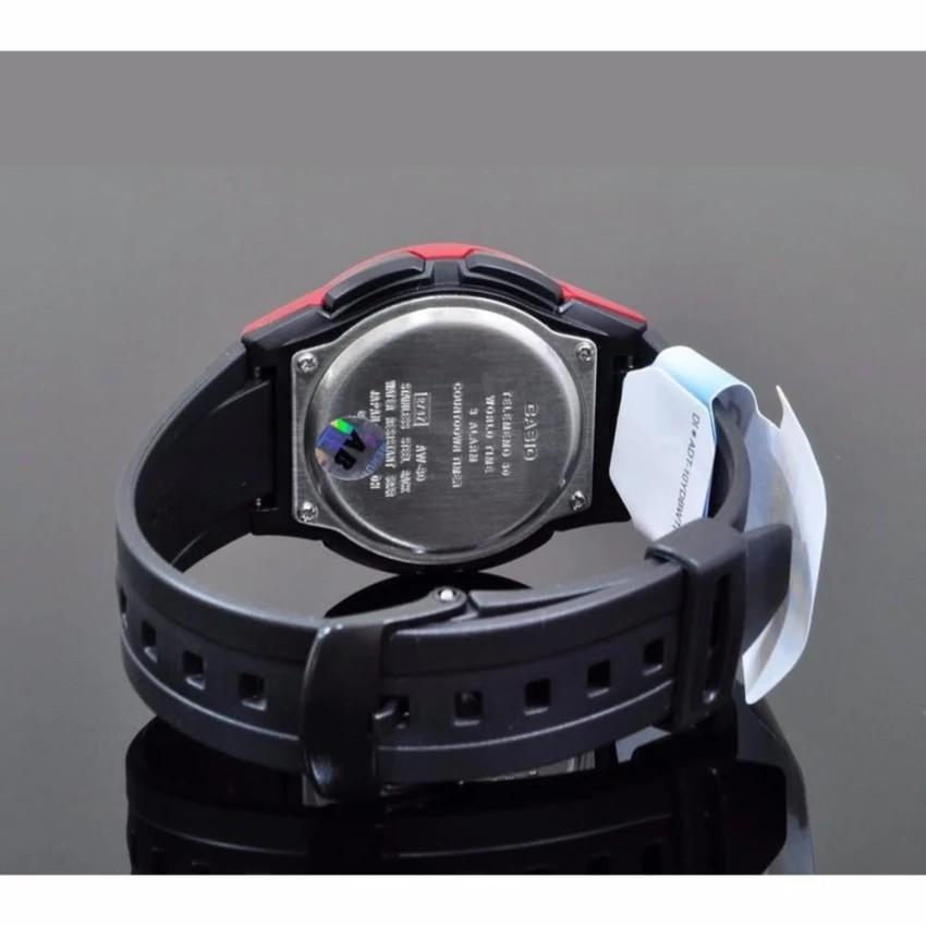 Đồng hồ nam dây nhựa Casio chính hãng Anh Khuê AW-80-4BVDF