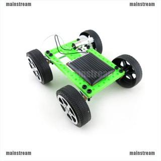 [main] Mini Solar Toy DIY Car Children Educational Puzzle IQ Gadget Hobby Robot [stream]