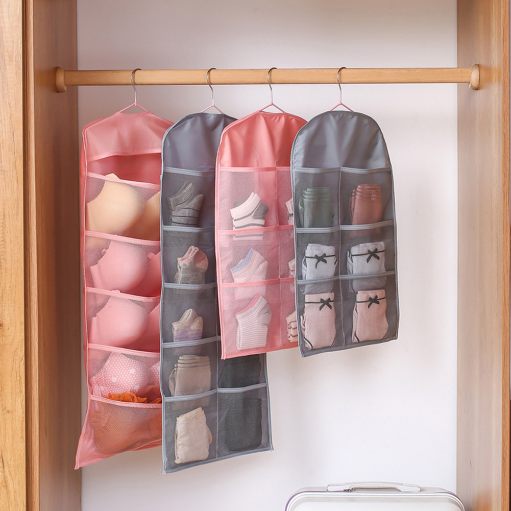 ↨COD↨Rotatable -sided Multi-pocket HangingBag UnderwearOrganizer
