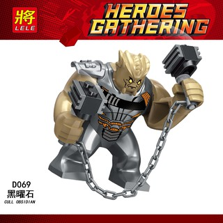 Lego Lele Infinity War nhân vật Cull Obsidian