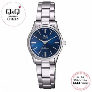 Đồng hồ nữ Q&Q Citizen C215J212Y dây sắt thương hiệu Nhật Bản thumbnail