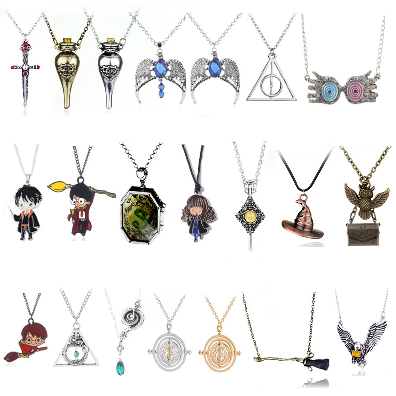 Dây Chuyền Mặt Đồng Hồ Cát Phong Cách Phim Harry Potter