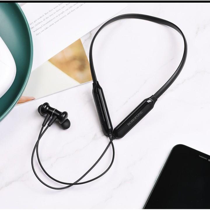 [Mã ELFLASH5 giảm 20K đơn 50K] Tai nghe bluetooth thể thao Borofone BE29 Joyous wireless V5.0