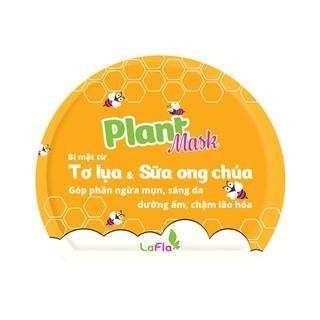 Mặt nạ Tơ lụa Sữa ong chúa L asenta Plant Mask 1 miếng ngừa mụn, ngừa lão hóa, trắng da thumbnail