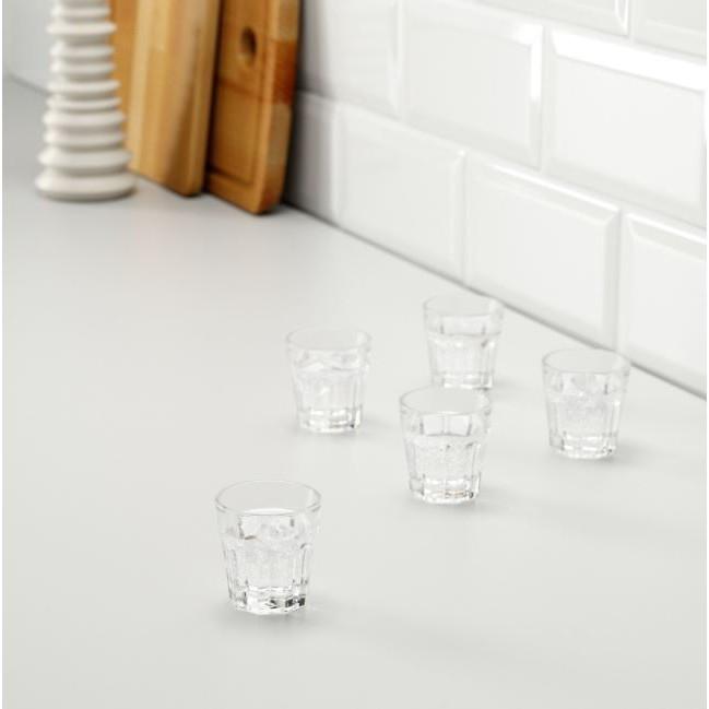 Chén rượu thủy tinh nhỏ an toàn Ikea Pokal Chính Hãng Thụy Điển cao 5 cm