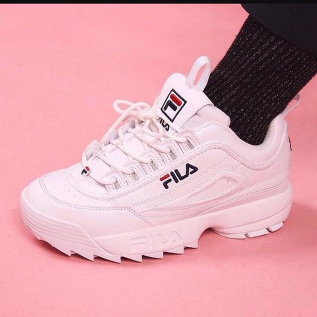 Giày fila white - có sẵn