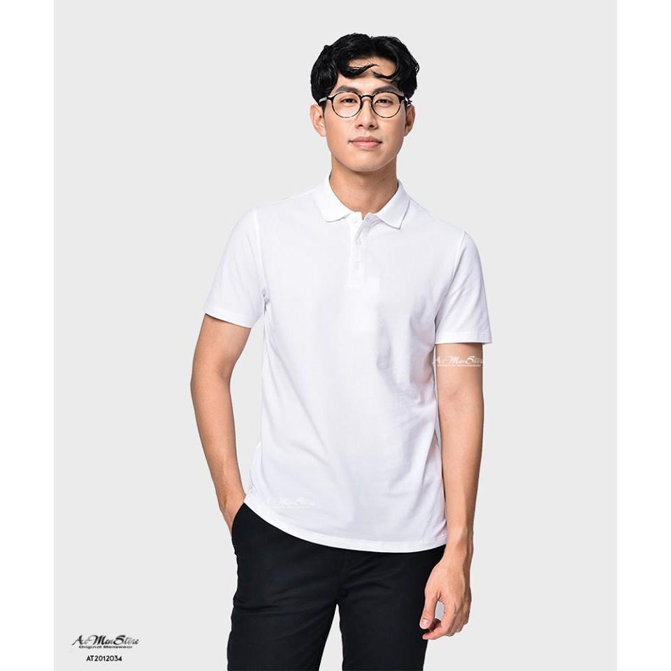 Áo thun nam cổ bẻ chất thun lạnh 100% cotton vải nhập khẩu Hàn Quốc của thời trang nam Routine - Áo ngắn tay có cổ- Áo thun cao cấp