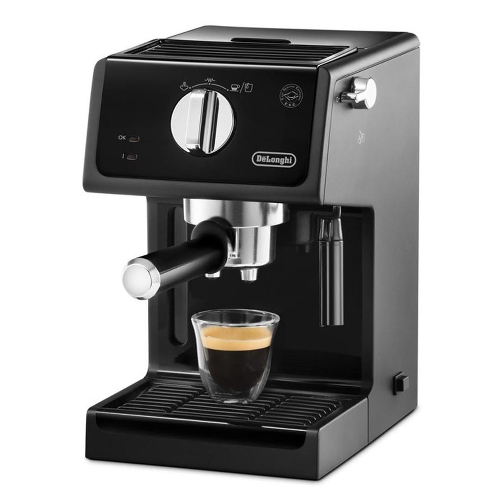 [Mã ELHAF1TR5 giảm tối đa 1TR ] [Trả góp 0%] Máy pha cà phê Cappuccino DeLonghi ECP31.21
