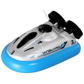 Tàu mini hovercraft điều khiển từ xa chơi trên nước (màu ngẫu nhiên)