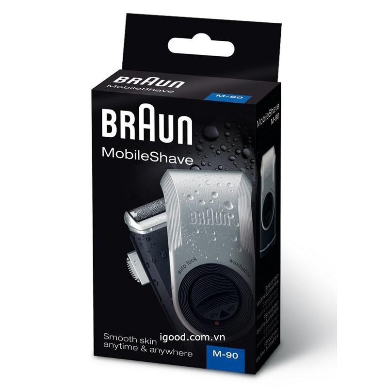 Máy cạo râu Braun M90 Mobile Shaver Nhật Bản - 2443181 , 971209716 , 322_971209716 , 750000 , May-cao-rau-Braun-M90-Mobile-Shaver-Nhat-Ban-322_971209716 , shopee.vn , Máy cạo râu Braun M90 Mobile Shaver Nhật Bản