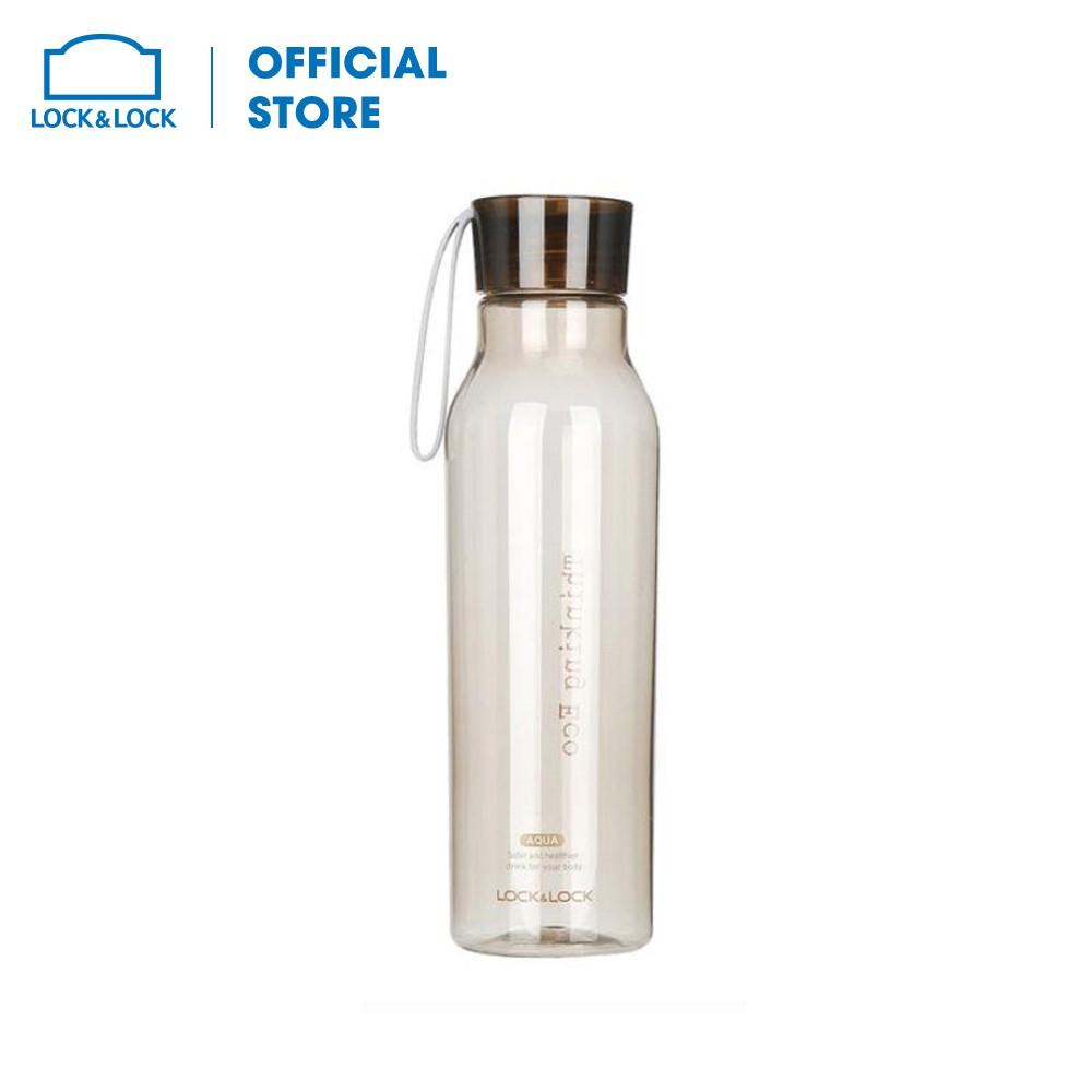 Bình Đựng Nước Lock&Lock Eco Water Bottle ABF644BRW (550ml)- màu nâu