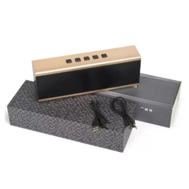Loa Kinhkong X6 Bluetooth siêu Bass cho âm thanh chuẩn 3D (Gold) - Phukienchobanvip
