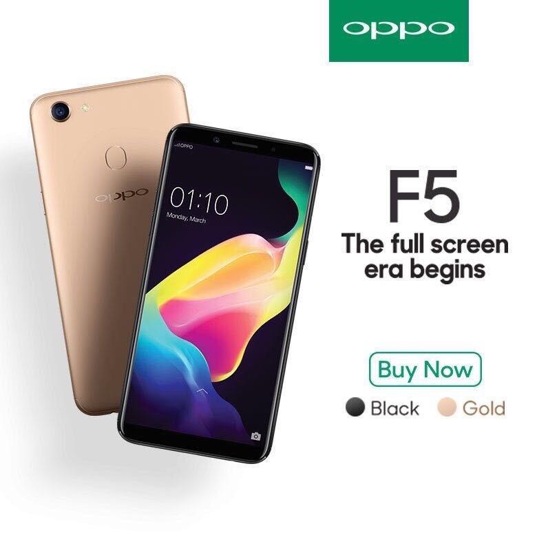 OPPO F5 ram 4G Bộ nhớ 32G 2sim mới 100% Fullbox - Chính hãng, Bảo hành 12 tháng