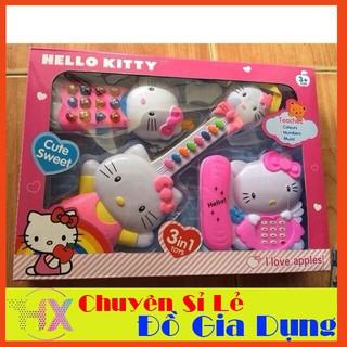 [FLASHSALE] Bộ 3 nhạc cụ Kitty #1203 – SIÊU CHẤT LƯỢNG
