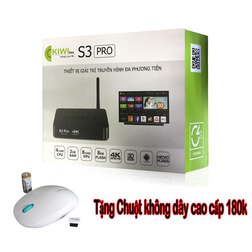 Android Kiwibox S3 Pro hệ điều hành 6.0 tặng kèm chuột không dây cao cấp (Bảo hành 12 tháng 1 đổi 1) - 3070450 , 1028501885 , 322_1028501885 , 969000 , Android-Kiwibox-S3-Pro-he-dieu-hanh-6.0-tang-kem-chuot-khong-day-cao-cap-Bao-hanh-12-thang-1-doi-1-322_1028501885 , shopee.vn , Android Kiwibox S3 Pro hệ điều hành 6.0 tặng kèm chuột không dây cao cấp