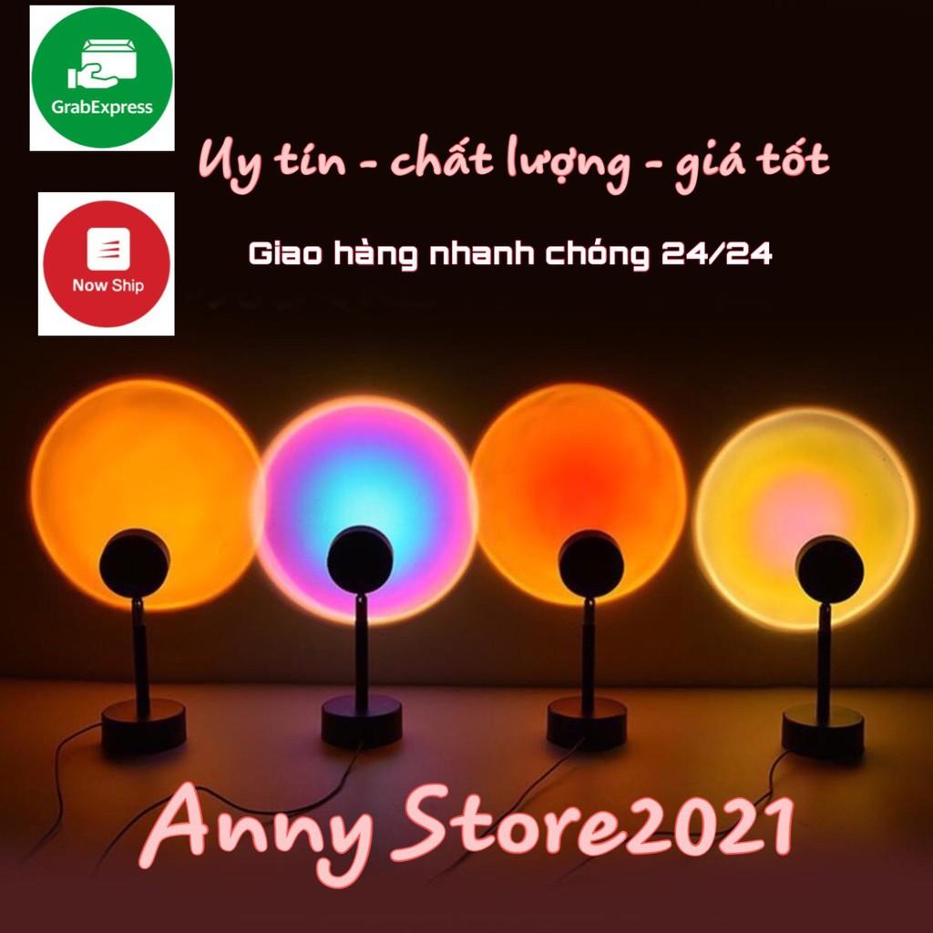 [4IN1 16 MÀU] Đèn hoàng hôn , bóng đèn led sống ảo, đèn led trang trí decor  Anny Store2021