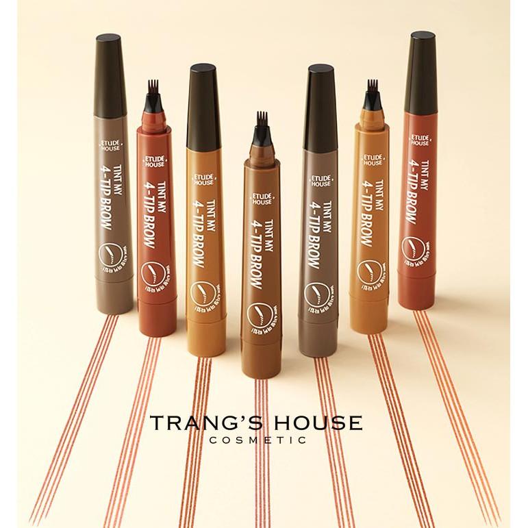 Bút Kẻ Chân Mày Phẩy Sợi Etude House Tint My 4 - Tip Brow