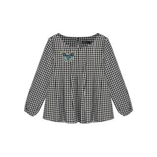 Áo cotton bé gái ly cổ K712 TRẺ EM TNG