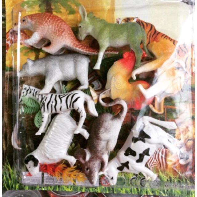 Bộ đồ chơi mô hình động vật ( 9con thú)